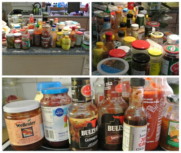 condiments Collage