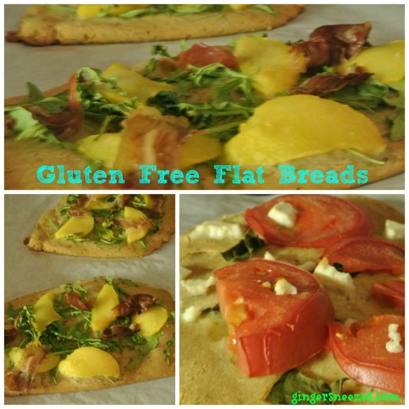 flatbread cooked Collage