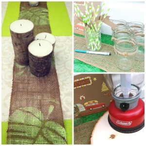 Party Decor Collage